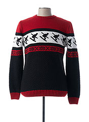 Pull col rond rouge IMPERIAL pour homme seconde vue