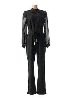 Combi-pantalon noir RINASCIMENTO pour femme