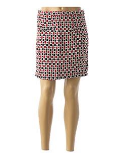 Jupe courte rouge MOLLY BRACKEN pour femme