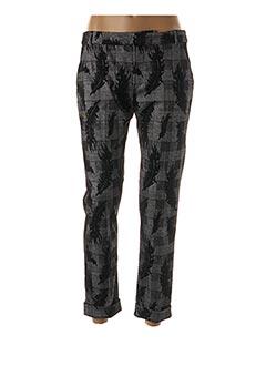 Pantalon 7/8 gris SIGNE NATURE pour femme