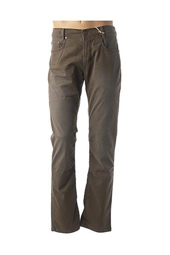 Pantalon casual vert FREEMAN T.PORTER pour femme