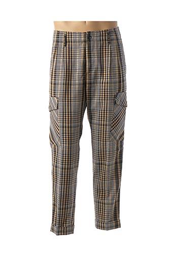 Pantalon casual beige SCOTCH & SODA pour homme