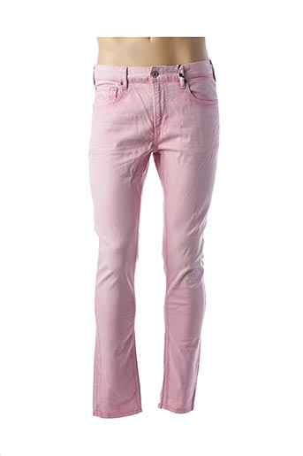 Jeans skinny rose SCOTCH & SODA pour homme