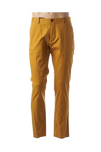 Pantalon chic jaune SCOTCH & SODA pour homme