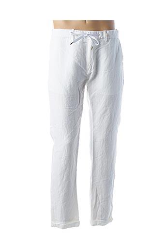 Pantalon casual blanc SCOTCH & SODA pour homme
