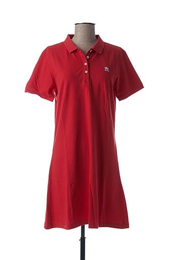 Robe courte rouge ARISTOW pour femme