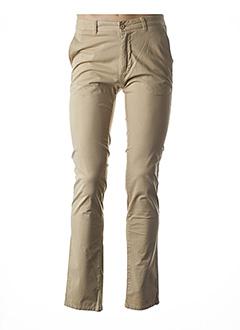 Pantalon casual beige ARISTOW pour homme