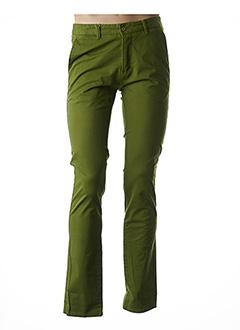 Pantalon casual vert ARISTOW pour homme