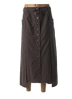 Jupe longue gris KARTING pour femme