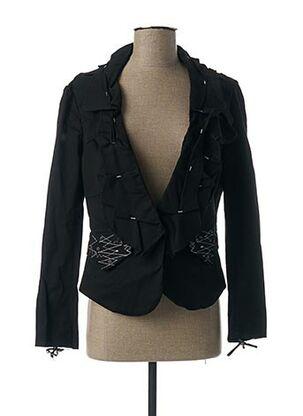 Veste chic / Blazer noir BARBARA BAUDON pour femme
