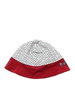 Chapeau rouge ELLE EST OU LA MER pour fille