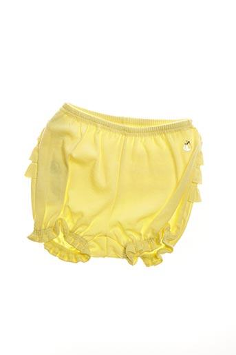 Short jaune PETIT BATEAU pour fille