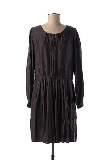 Robe mi-longue noir BELLEROSE pour femme