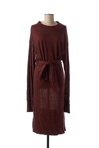 Robe mi-longue rouge ISABEL MARANT pour femme