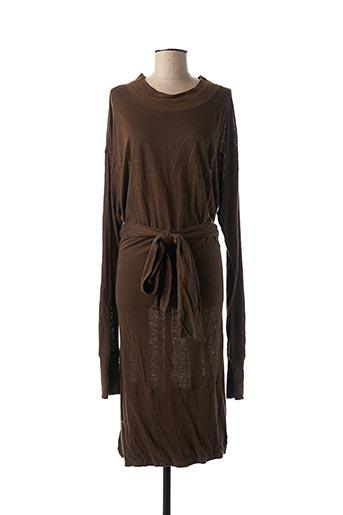 Robe mi-longue vert ISABEL MARANT pour femme