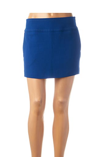 Mini-jupe bleu LA MANUFACTURE 8 LINVINGSTONE pour femme