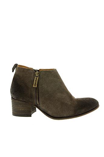 Bottines/Boots marron ATELIER VOISIN pour femme