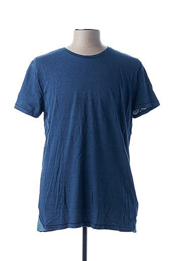 T-shirt manches courtes bleu SALSA pour homme