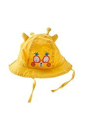 Chapeau jaune TUC TUC pour fille seconde vue