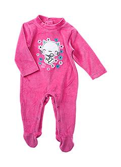 Pyjama rose TUC TUC pour fille