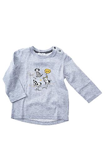 T-shirt manches longues gris ABSORBA pour garçon