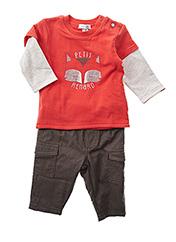 Top/pantalon orange ABSORBA pour garçon seconde vue