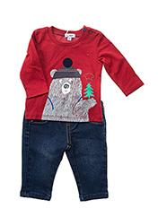 Top/pantalon rouge ABSORBA pour garçon seconde vue