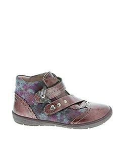Bottines/Boots rouge BELLAMY pour fille