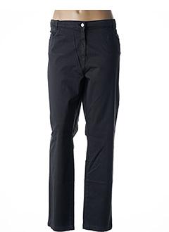 Pantalon casual noir THALASSA pour femme