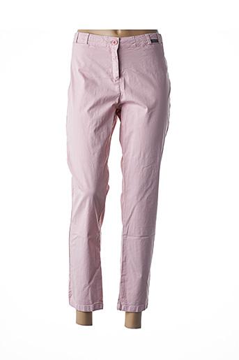 Pantalon 7/8 rose ARMOR LUX pour femme