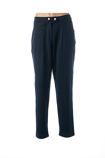 Pantalon chic bleu LOLA ESPELETA pour femme