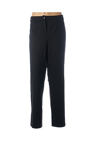 Pantalon casual noir JEAN DELFIN pour femme