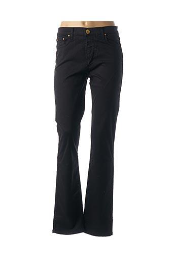 Pantalon casual noir CRN-F3 pour femme