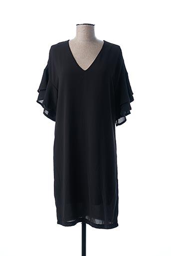 Robe mi-longue noir AKOZ DE TOI pour femme