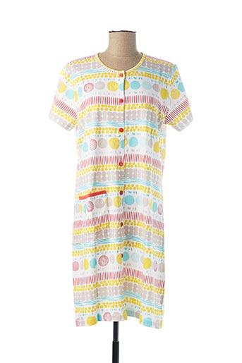 Chemise de nuit jaune ROSE POMME pour femme