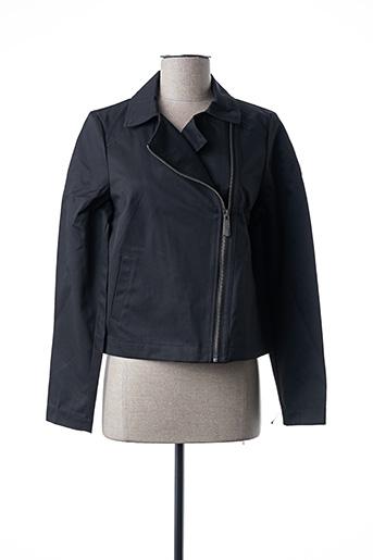 Veste casual noir MIA SOANA pour femme