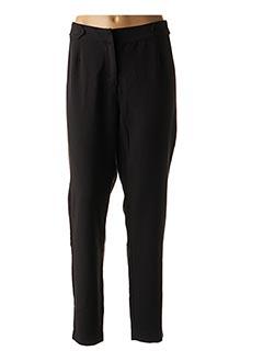 Pantalon chic noir MIA SOANA pour femme