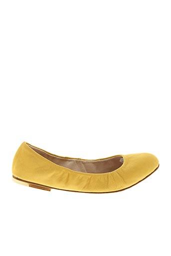 Ballerines jaune BLOCH pour femme