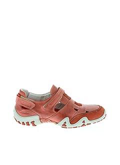 Chaussures de confort rose ALLROUNDER pour homme
