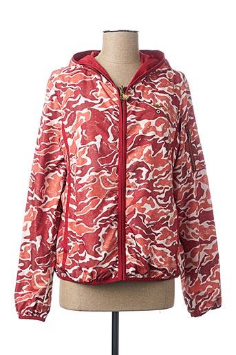 Coupe-vent rouge AERONAUTICA pour femme