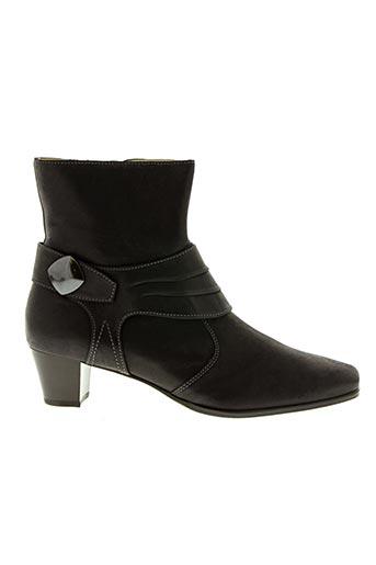 Bottines/Boots noir HASSIA pour femme