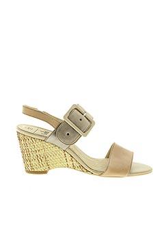 Sandales/Nu pieds beige CAPRICE pour femme