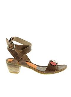 Sandales/Nu pieds marron DORKING pour femme