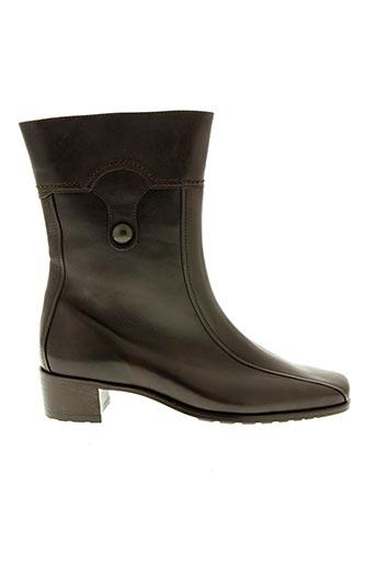 Bottines/Boots marron HASSIA pour femme