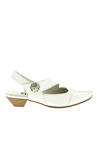 Escarpins blanc FIDJI pour femme