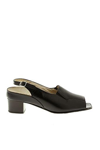 Sandales/Nu pieds noir HASSIA pour femme