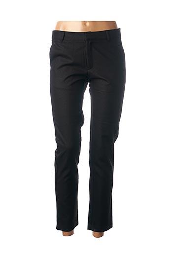 Pantalon chic noir CHATTAWAK pour femme