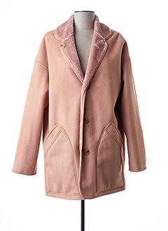 Manteau long rose PAUL SMITH pour femme