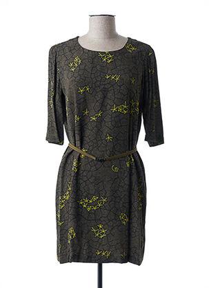 Robe courte vert ALYSI pour femme