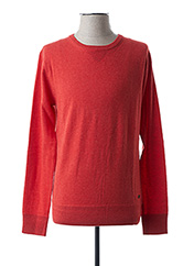 Pull col rond rouge SCOTCH & SODA pour homme seconde vue
